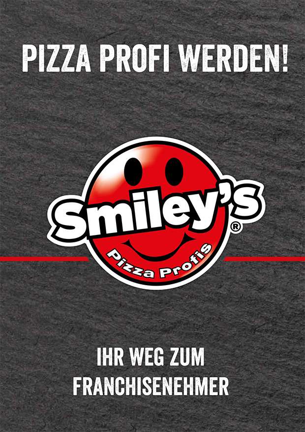 Smiley's Pizza Profis - Franchise Broschüre