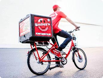 Smiley's Pizza Profis - Jobbörse - Fahrradkurier