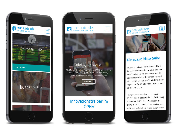 Webdesign - Mobile screenshot