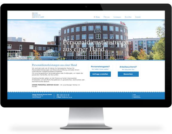 Webdesign - Desktop screenshots 1
